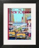 Have a Nice Day - The New Yorker Cover, March 7, 1994 Prints by Bruce McCall