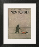 The New Yorker Cover - February 16, 1987 Art by Eugène Mihaesco