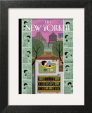 Urban Bliss - The New Yorker Cover, July 1, 2013 Prints by Ivan Brunetti