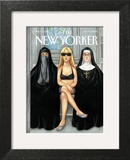 The New Yorker Cover - July 30, 2007 Art Print by Anita Kunz