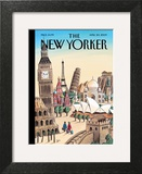The New Yorker Cover - April 20, 2009 Wall Art by Jacques de Loustal