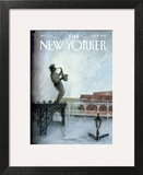 The New Yorker Cover - September 12, 2005 Wall Art by Ana Juan