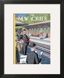 The New Yorker Cover - September 12, 1942 Poster by Peter Arno