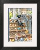 The New Yorker Cover - April 30, 2012 Art Print by Peter de Sève
