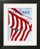 The New Yorker Cover - July 2, 1990 Wall Art by Gretchen Dow Simpson