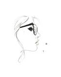 That Nerdy Girl Affiches par Jessica Durrant