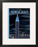 The New Yorker Cover - November 19, 2012 Wall Art by Mark Ulriksen