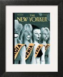 The New Yorker Cover - October 9, 2000 Poster by Ian Falconer