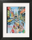 It's a Helluva Town - The New Yorker Cover, October 3, 2011 Posters by Bruce McCall