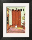 The New Yorker Cover - February 4, 1974 Wall Art by George Booth
