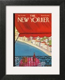 The New Yorker Cover - July 24, 1965 Art Print by Beatrice Szanton
