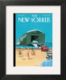 Operation Neptune - The New Yorker Cover, July 22, 2013 Prints by Bruce McCall