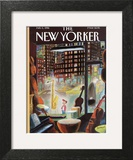 The New Yorker Cover - February 5, 1996 Art Print by Jean-Jacques Sempé