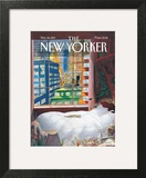 The New Yorker Cover - November 24, 1997 Wall Art by Jean-Jacques Sempé
