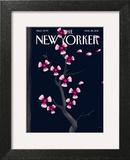 Dark Spring - The New Yorker Cover, March 28, 2011 Art Print by Christoph Niemann