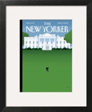 The New Yorker Cover - April 27, 2009 Wall Art by Bob Staake