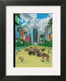 The New Yorker Cover - August 27, 2012 Poster by Bruce McCall