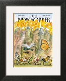 The New Yorker Cover - April 15, 2013 Wall Art by Edward Sorel