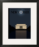 The New Yorker Cover - November 17, 2008 Wall Art by Bob Staake