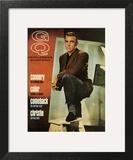 GQ Cover - April 1966 Art Print by David Sutton