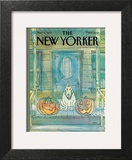 New Yorker Cover - November 04, 1985 Art Print by George Booth