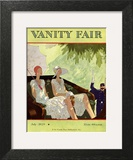 Vanity Fair Cover - July 1929 Art Print by Jean Pagès