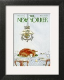 The New Yorker Cover - December 1, 1975 Wall Art by George Booth