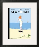 On the Horizon - The New Yorker Cover, August 29, 2011 Wall Art by Istvan Banyai