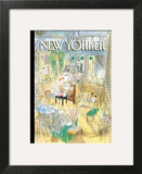 The New Yorker Cover - December 4, 2006 Art Print by Jean-Jacques Sempé