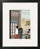 Crossroads - The New Yorker Cover, September 16, 2013 Art Print by Adrian Tomine