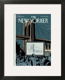 The New Yorker Cover - August 24, 2009 Wall Art by Adrian Tomine