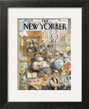 The New Yorker Cover - July 17, 1995 Wall Art by Peter de Sève