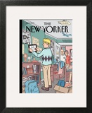Boomerang Generation - The New Yorker Cover, May 24, 2010 Print by Dan Clowes