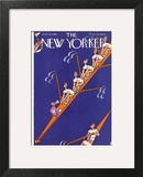 The New Yorker Cover - June 26, 1926 Art Print by Julian de Miskey