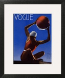 Vogue Cover - July 1932 - Red Beach Ball Wall Art by Edward Steichen