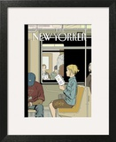 The New Yorker Cover - November 8, 2004 Art Print by Adrian Tomine