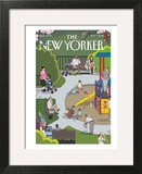 The New Yorker Cover - May 7, 2012 Art Print by Chris Ware