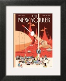 The New Yorker Cover - April 22, 2013 Prints by Luke Pearson