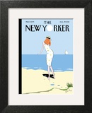 On the Horizon - The New Yorker Cover, August 29, 2011 Art Print by Istvan Banyai