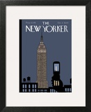 The New Yorker Cover - October 3, 2005 Art Print by Chris Ware