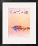 The New Yorker Cover - June 13, 1983 Art Print by Susan Davis