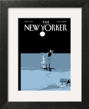 The New Yorker Cover - August 31, 2009 Wall Art by Istvan Banyai
