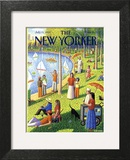 The New Yorker Cover - July 15, 1991 Wall Art by Bob Knox