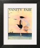 Vanity Fair Cover - July 1916 Art Print by Rita Senger