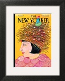 The New Yorker Cover - March 26, 2012 Wall Art by Maira Kalman