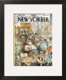 The New Yorker Cover - July 17, 1995 Art Print by Peter de Sève
