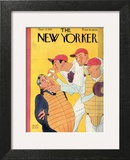 The New Yorker Cover - September 23, 1933 Wall Art by Abner Dean