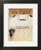 The New Yorker Cover - March 23, 1987 Art Print by Jean-Jacques Sempé
