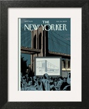 The New Yorker Cover - August 24, 2009 Art Print by Adrian Tomine