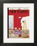 Warmth - The New Yorker Cover, March 19, 2012 Art by Ivan Brunetti